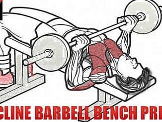 Decline Barbell Bench Press