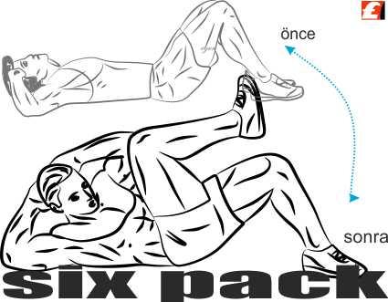 Six-Pack Egzersizi Nasıl Yapılır?