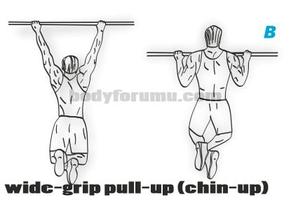Wide Grip Pull-Up & Geniş Barfiks Nasıl Yapılır?