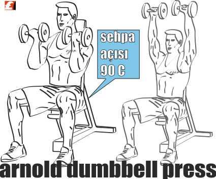 Dumbbell Arnold Shoulder Press Nasıl Yapılır?