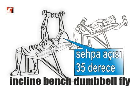 Fitness & Incline Dumbbell Fly nasıl yapılır?